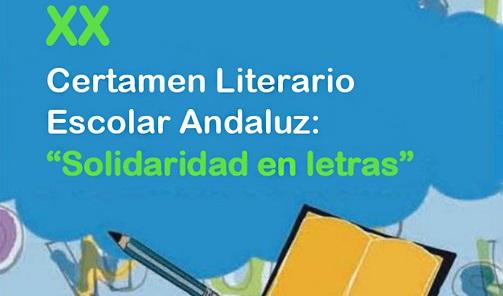 Igualdad convoca el XX Certamen Literario Escolar sobre voluntariado 'Solidaridad en Letras'.