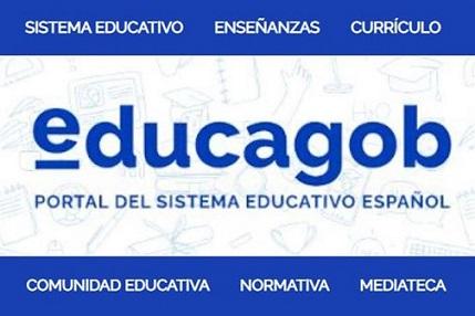 Educación y Formación Profesional lanza 'educagob', el nuevo portal del sistema educativo español.