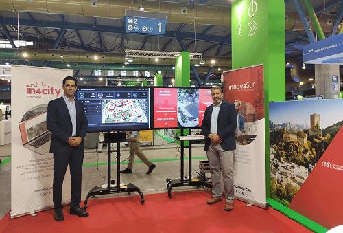La tecnológica andaluza InnovaSur presenta en Greencities una plataforma 'smart city' de software libre y gratuita para todos los municipios.