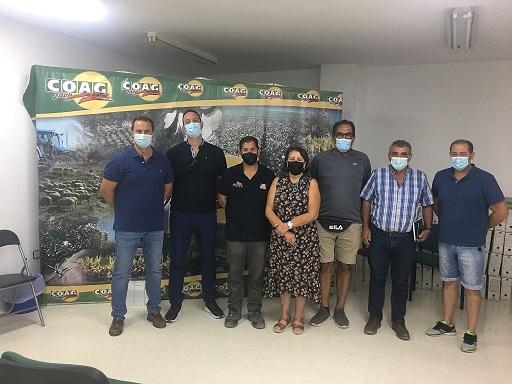 Nuevo consejo local de COAG en Andújar.