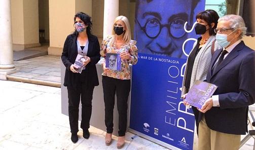 La Consejería de Cultura rinde homenaje al poeta malagueño Emilio Prados, Autor del Año 2021.