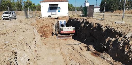 Una actuación del Ayuntamiento en la EBAR Vivero de Andújar evitará posibles inundaciones en la ciudad.