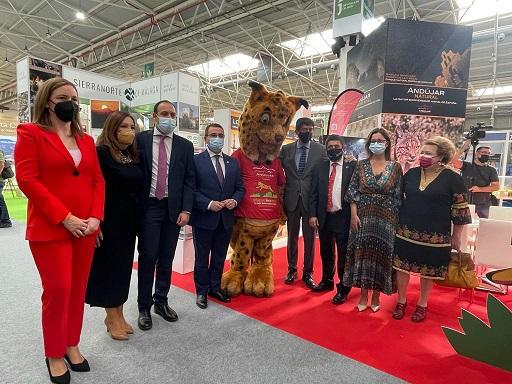 """El Ayuntamiento de Andújar muestra sus recursos turísticos en la XIX Feria de Turismo """"Tierra Adentro""""."""