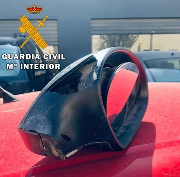 La Guardia Civil ha detenido a tres personas como presuntas autoras de los Delitos de Daños y Hurto.