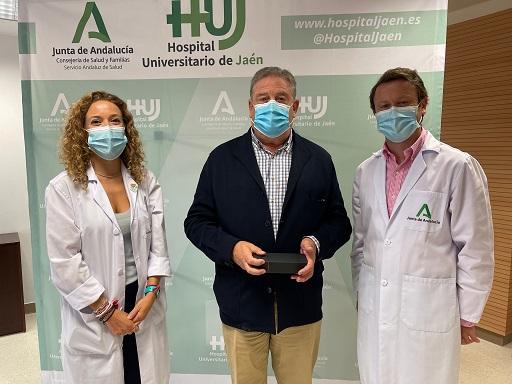 El Hospital Universitario de Jaén rinde homenaje a sus profesionales jubilados.