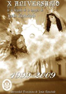 Cartel de los actos conmemorativos en Arjona.