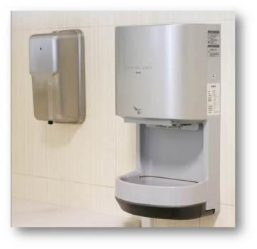 Penggunaan hand dryer di Toilet