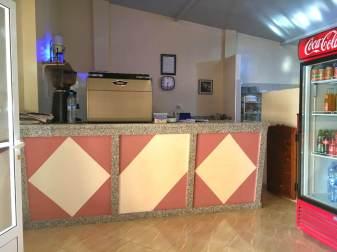 """Restaurant """"La Petite Tente Bleue"""" (Photographed 2017)."""