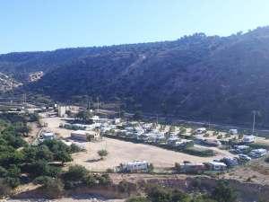 Der Campingplatz Camping Aourir