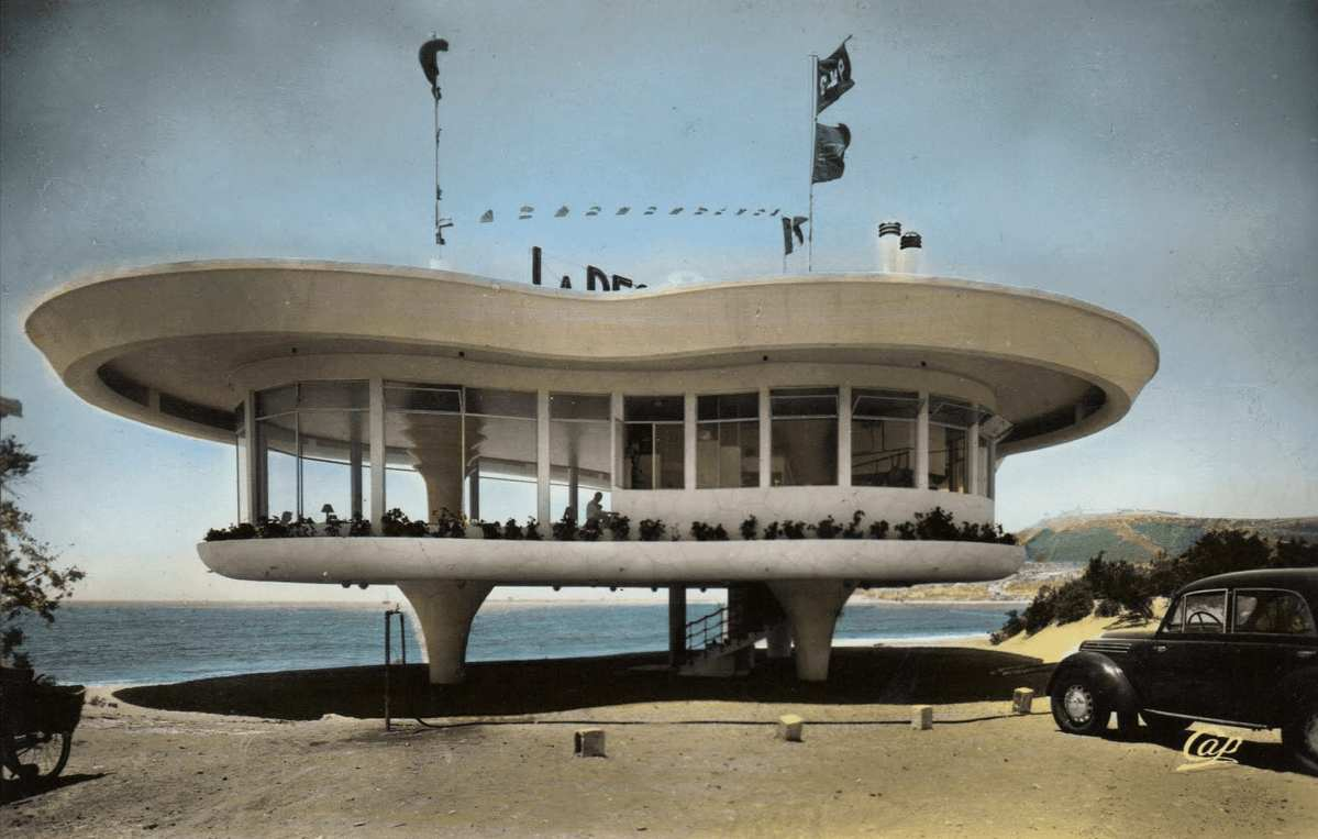 Restaurant La Réserve Agadir 1960