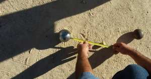 Our first Petanque Tournament at Camping Aourir