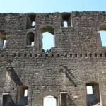 Les ruines du château de Châteauneuf du Pape