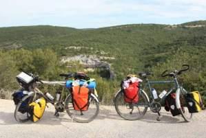 Pause cycliste