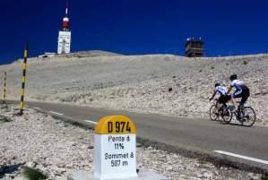Mont Ventoux à vélo