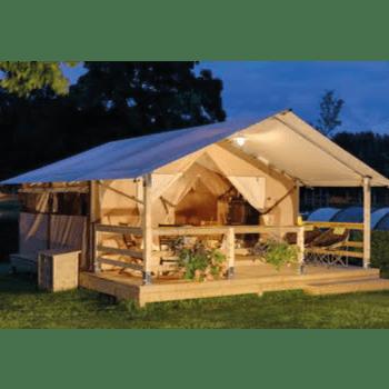 Camping l'Art de Vivre hébergement toile