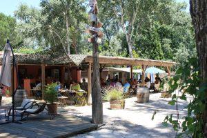 Bar et restaurant camping Art de Vivre