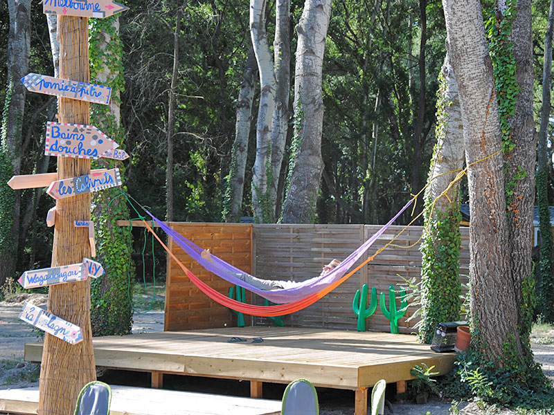 camping art de vivre, chateauneuf du pape, vaucluse