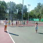 cours, tennis, camping, chateauneuf du pape