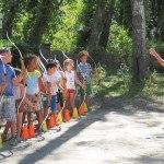 activités enfants, cours, tir à l'arc, camping, vaucluse