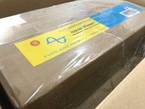 Amazonでキャンピングカー用の大容量純正弦波インバーターを購入 中国製