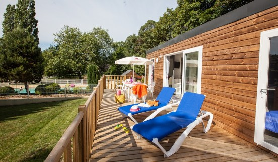Cottage VIP camping Manche