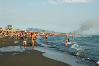 Strand Richtung Albanien