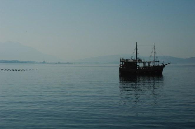 Abendstimmung in der Bucht von Kotor