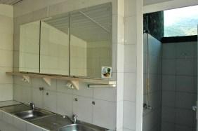 Waschraumn offen und ohne SIchtschutz