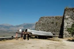Altes Düsenflugzeug aus den 50er Jahren, eine Lockheed T33