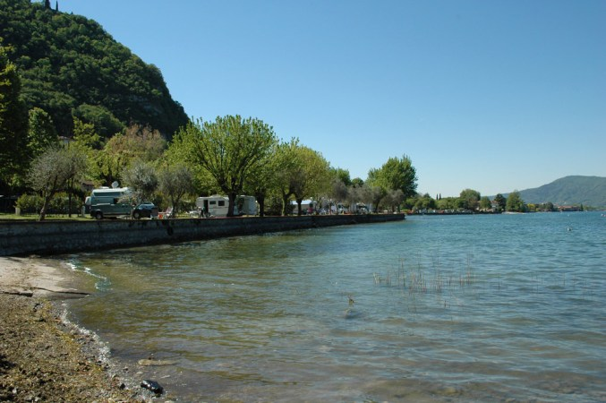 Camping Covelo am Iseosee