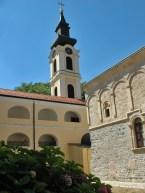 Im Kloster werden die Reliquien des Märtyrers Theodorus Tyron verehrt