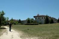 Kloster Rozhen oberhalb von Melnik