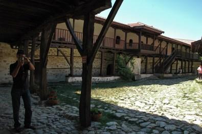 Kloster Rozhen ist von Mönchen bewohnt