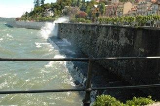 Lago Maggiore Unwetter bei Stresa