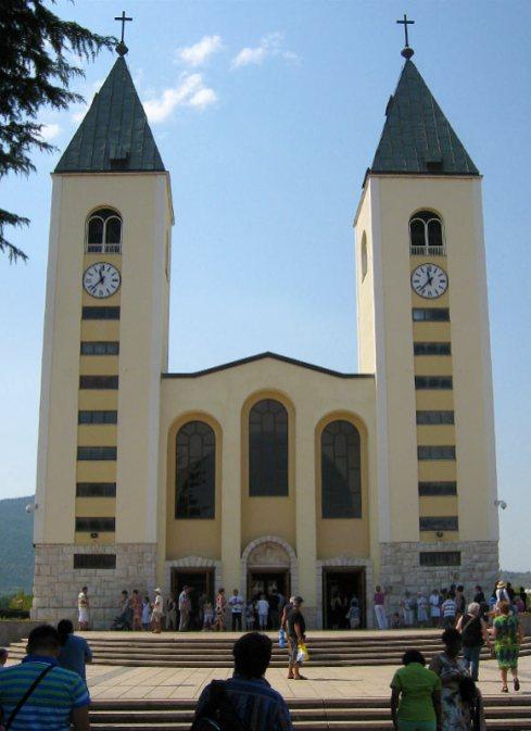 St.-Jakobus Kirche in Medjugorje
