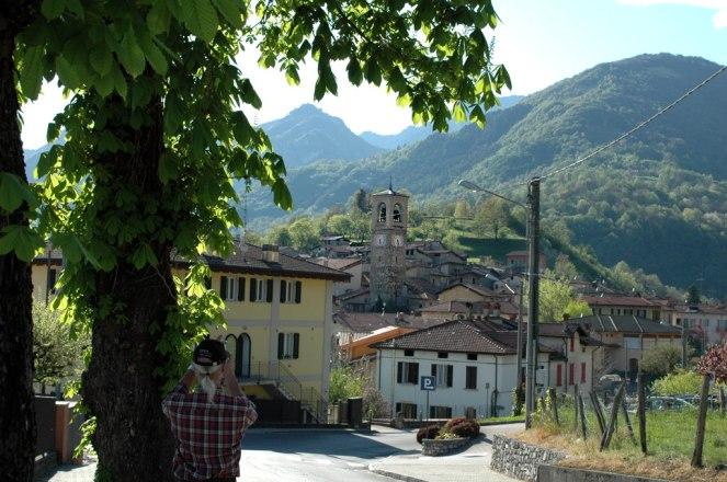 Carlazzo oberhalb Piano See