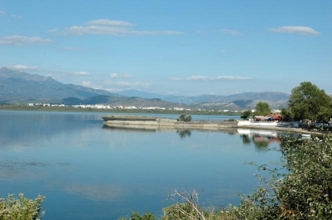 Shkodra See Westufer