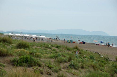 Strand beim Camp Etruria