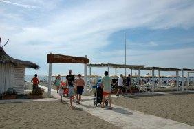 Eigener Strand Etruria