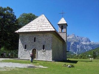 Die kath. Kirche wurde während des Kommunismus als Lager genutzt