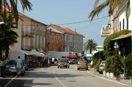 Trpanj, Hauptstraße zum Meer