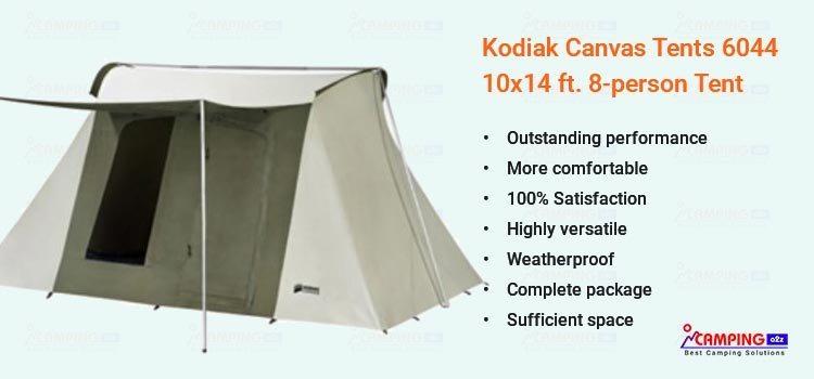 Kodiak Canvas Tents 6044 8-person Tent 10x14 ft  review 2019
