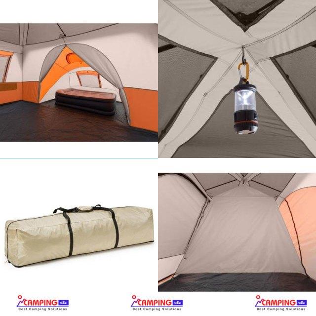 Ozark Trail 11 Person 3 Room Instant Cabin Tent