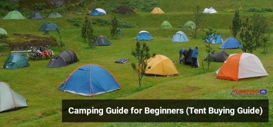 Camping Guide for Beginners (Tent Buying Guide)