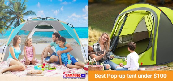 Best pop up tents under $100