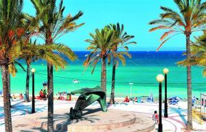 Albir Promenade in Spain