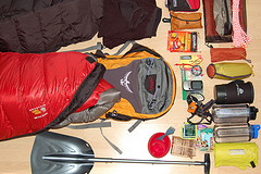 Camping Gear for lightweight snow camping