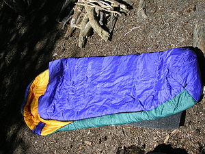 A sleeping bag is a vital piece of camping gear