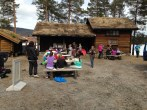 Bobilparkering - Bobilcamping - Mineralparken - Evje