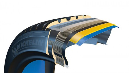 Michelin sparer vekt, plass og drivstoff med selvreparerende dekk